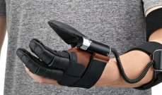 """""""نيومانو"""" قفاز ذكي يمنح القوة للمصابين بالشلل اليدوي"""