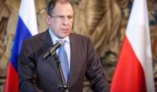 لافروف: نتوقع إستئناف الرحلات إلى المنتجعات المصرية قريبا