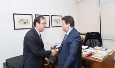 كنعان يلتقي فوشيه.. المبادرة الفرنسية تجاه لبنان مستمرة