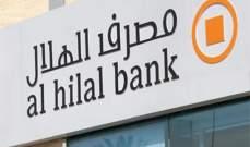 """""""مصرف الهلال"""" الاماراتي يحدد السعر المبدئي للصكوك الدولارية عند 165 نقطة أساس"""