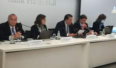 """شقير خلال ندوة حول """"فرص الاستثمار في بلغاريا"""": لبنان مقبل على مشاريع تجارية جديدة"""