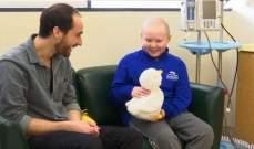 روبوتات على شكل بطة لتسلية الأطفال المصابين بالسرطان