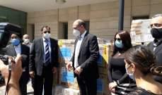 """مساعدات طبية من الهند إلى لبنان لمواجهة """"كورونا"""""""