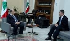 """الرئيس عون يطلع من السفير الصيني على آخر التطورات بشأن مكافحة """"كورونا"""""""