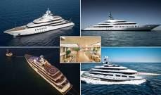 """أفضل اليخوت في العالم وفقاً لمجلة """"Boat International"""""""