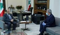 الرئيس عون يعرض مع مشرفية المشاكل التي يعاني منها القطاع السياحي وسبل دعمه