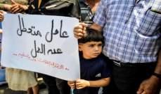 البطالة في غزة تقفز إلى 52% خلال 2018