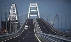 إنطلاق حركة قطارات الشحن عبر جسر القرم الروسي
