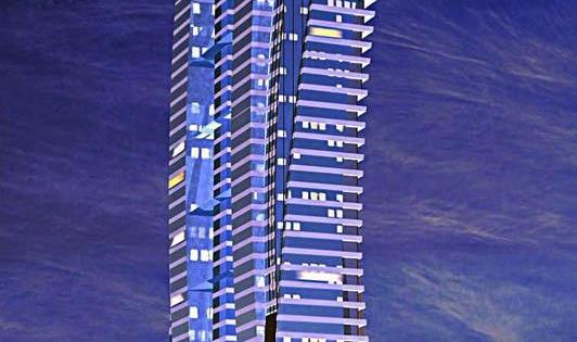 داماك العقارية تنهي أعمال بناء الطابق 28 من برج الجوهرة في جدة