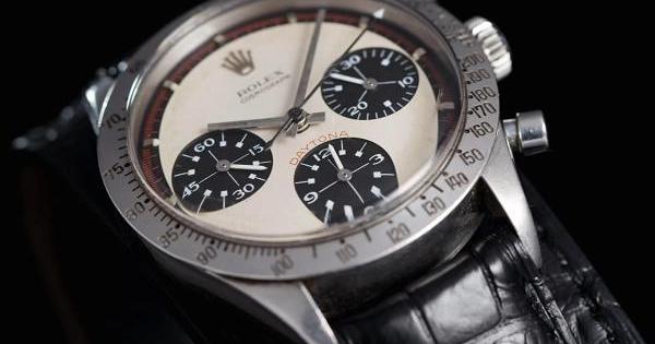 b7f3bf1ac بيع أغلى ساعة رولكس في مزاد بقيمة 17.7 مليون دولار