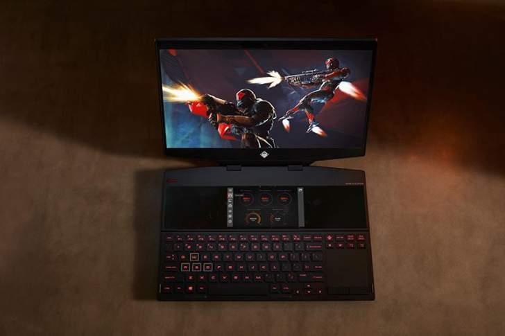 """""""اتش بي"""" تكشف عن الحاسوب الجديد """"Omen X 2S"""""""