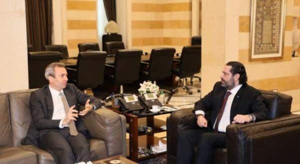 السفير البريطاني بعد لقائه الحريري: نتطلع مع المجتمع الدولي لإصلاح قطاع الكهرباء