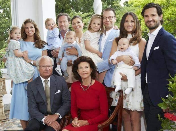 ملك السويد يجرد أحفاده من ألقابهم الملكية والسبب... الميزانية!