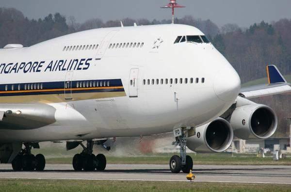 """بعد إلغاء 96% من رحلاتها.. سهم """"الخطوط الجوية السنغافورية"""" يتراجع بأكثر من 9%"""