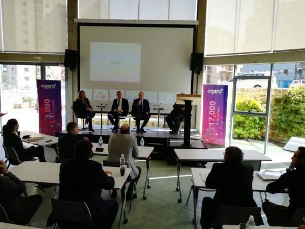 """كريدية خلال """"منتدى الإبتكار في شبكات المعلومات"""": """"أوجيرو"""" تمكنت من التطور بشكل كبير خلال سنتين وكسبت إحترام اللبنانيين"""