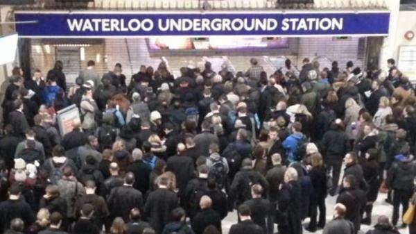 ساعات عمل القطارات تنخفض بأكثر من 70% في بريطانيا