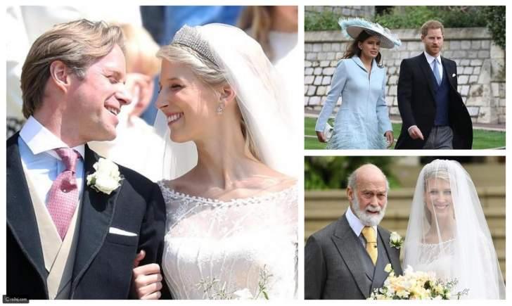بالصور: زفاف ملكي جديد وتاج العروس بـ3 مليون جنيه إسترليني