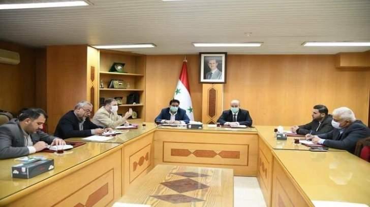 إتفاق بين سوريا وإيران لمقايضة المنتجات الزراعية