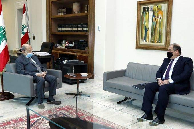 الرئيس عون يعرض مع عربيد الأوضاع الإقتصادية في البلاد وسبل المعالجة