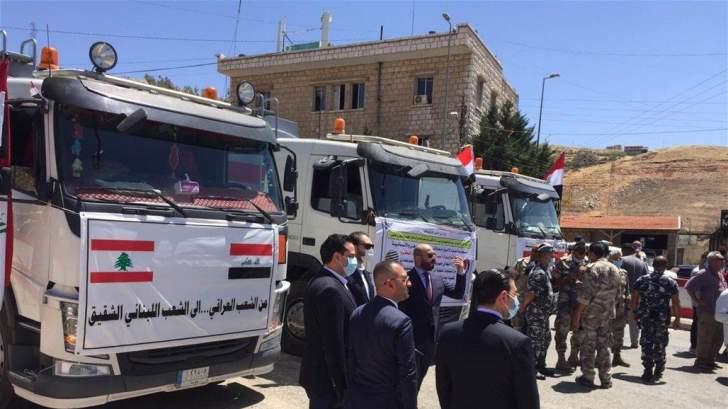 مصادر السفارة العراقية في بيروت: سيستمر المازوت بالتدفّق إلى لبنان للأشهر الثمانية المقبلة