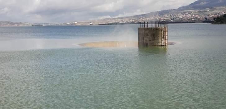 """""""مصلحة الليطاني"""" تعلن بدء مفيض بحيرة القرعون وتتخذ إجراءات لحماية نوعية المياه"""