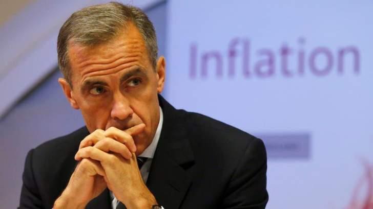 """محافظ """"بنك إنكلترا"""": تعافي الإقتصاد سيستغرق وقتاً"""