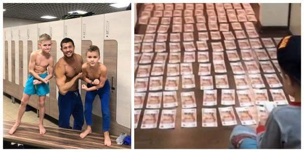 سجادة من الأموال... مفاجأة لرجل الأعمال الروسي!