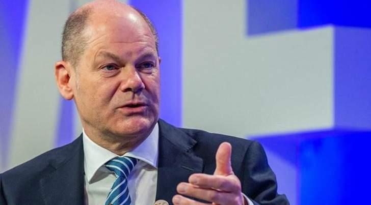 وزير المالية الألماني يقلل من مخاوف تسارع التضخم خلال أيار
