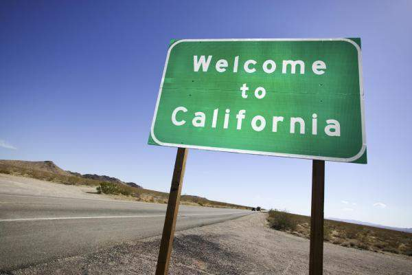 إنخفاض عدد سكان كاليفورنيا لأول مرة على الإطلاق