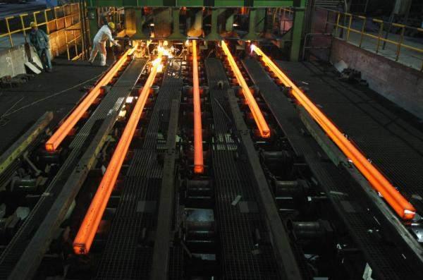 إرتفاع حجم إنتاج ايران من الصلب بنسبة 27.6%