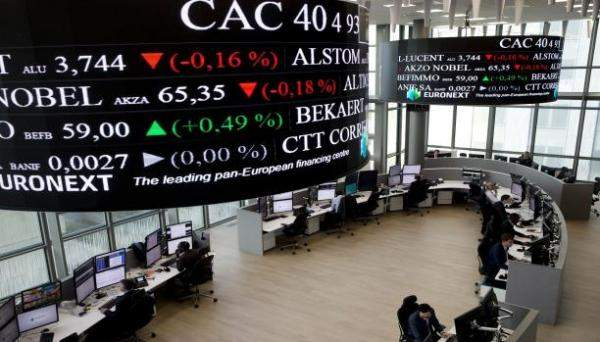 بورصة باريس تغلق على ارتفاع بنسبة 0.44% عند 5618.06 نقطة
