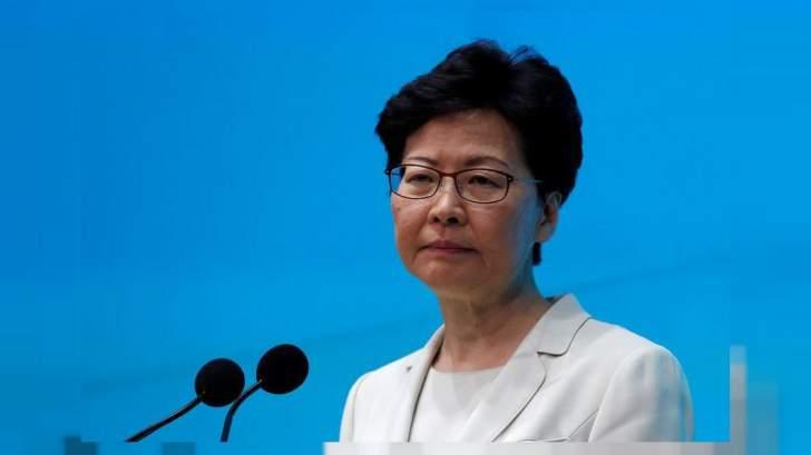رئيسة السلطة التنفيذية في هونغ كونغ تحرم من حسابها البنكي بسبب العقوبات الأميركية