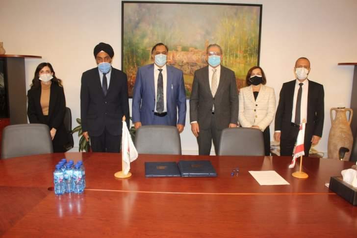 توقيع اتفاقية تعاون بين الجامعة اللبنانية ودلهي بحضور السفير الهندي في بيروت