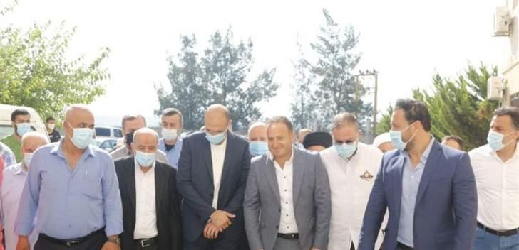 وزارة الصحة تدعم مستشفى قانا ب 750 مليون ليرة