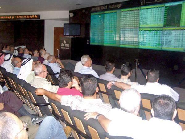 تراجع بورصة الأردن بنسبة 0.46% إلى مستوى 2186.16نقطة