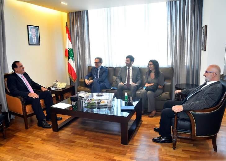 حب الله يلتقي دو ريكولفيس: فرنسا شريك رئيسي للبنان وهي مستمرة في دعمه