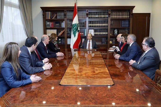 الرئيس عون: سنة 2020 ستشهد بدء أعمال التنقيب عن النفط والغاز ما يعطي دفعاً إيجابياً للإقتصاد اللبناني