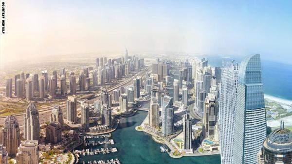 قمة الحكومات في دبي: أبراج بطول 30 كيلومتراً عام 2050