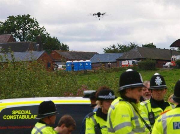 """الشرطة البريطانية تعتزم إطلاق وحدة """"درون"""" مستمرة للتحقيق والبحث عن المجرمين"""