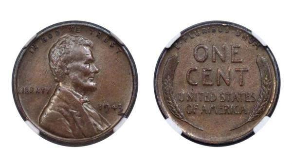 170 ألف دولار قيمة عملة معدنية أميركية نادرة تعود لعام 1943