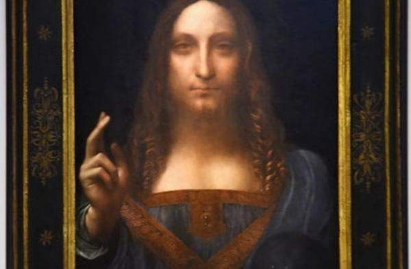 بيع لوحة المسيح لدافينشي بـ 450.3 مليون دولار