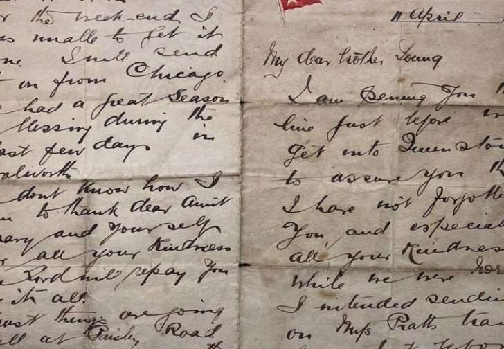 """رسالة كتبها بطل من """"تيتانيك"""" للبيع في مزاد بهذا المبلغ..."""