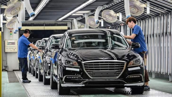 صادرات كوريا الجنوبية من السيارات ترتفع 58 % خلال أيار