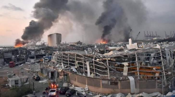 القاضي صوان استمع الى إفادات 4 شهود في ملف انفجار المرفأ