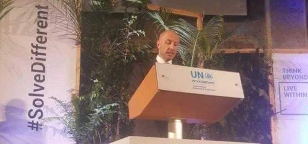 جريصاتي من نيروبي: قيمة مخلفات حرب تموز على بيئة لبنان 856.4 مليون دولار