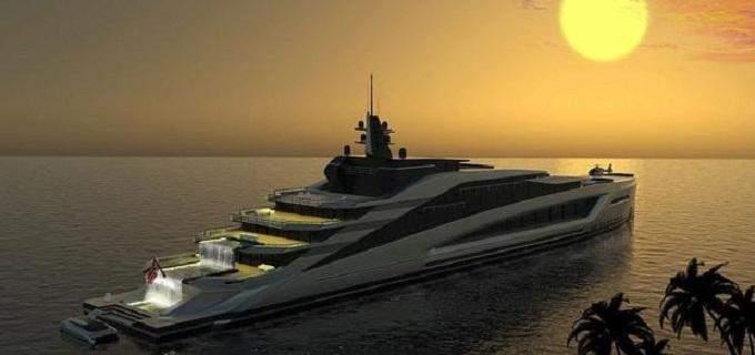 """بالصور: 450 مليون دولار سعر""""يخت كاليفورنيا""""الفخم"""