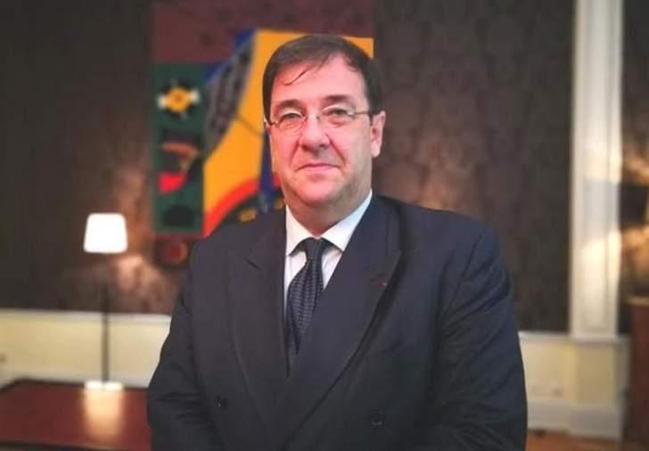 """السفير الفرنسي: مؤتمر """"سيدر"""" لم يُدفن وصندوق النقد صبور وينتظر موقفا لبنانيا موحدا"""