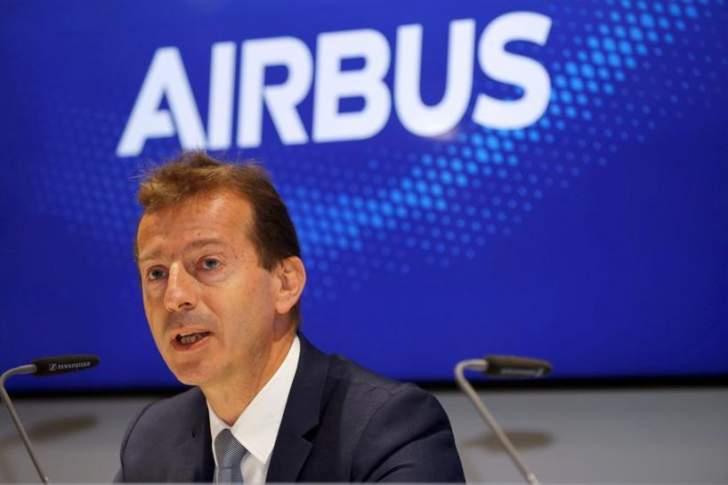 """الرئيس التنفيذي لشركة """"إيرباص"""": إستئناف الحركة الجوية أولويتنا الحالية"""