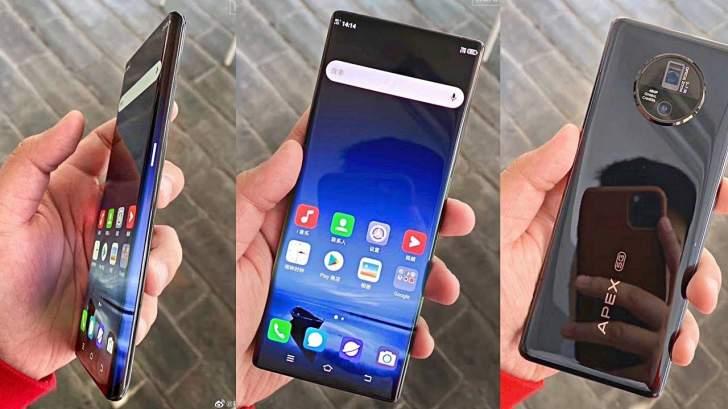 """Vivo Apex 2020"" أول هاتف بكاميرا أمامية داخل الشاشة"