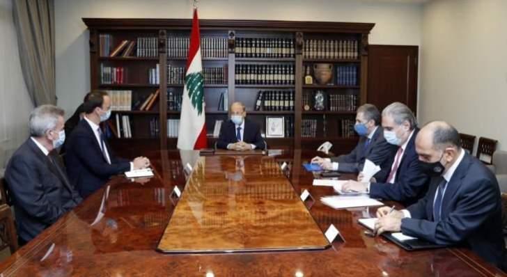 الرئيس عون: للإلتزام بإجراء التدقيق الجنائي المالي